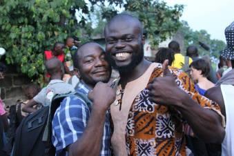 Rufin Mbou Mikima et Nicolas Moumbounou