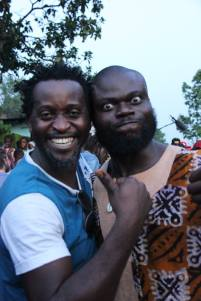 Ulrich N'Toyo et Nicolas Moumbounou